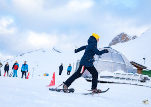 Winter games in Adelboden