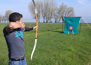 Archery - Arrow and bow