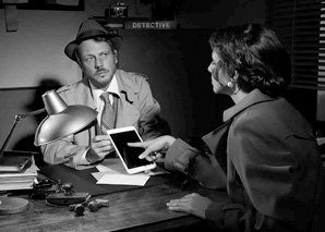 Tablet sleuths – detectives in the city