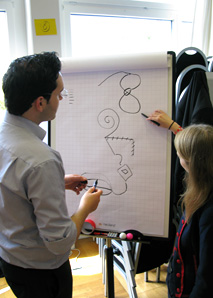Domino - Fun-Workshop oder Teambildungsevent