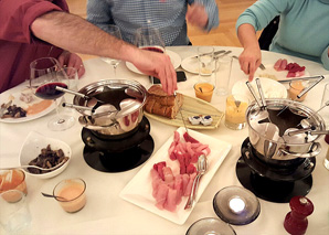 Fondue chinoise with a dips workshop