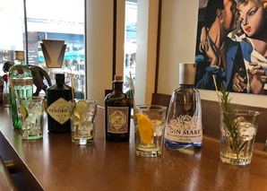 Gin tasting in zurich degustation