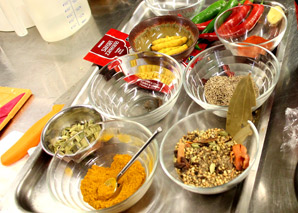 Indian cooking with a quiz - Team-Events