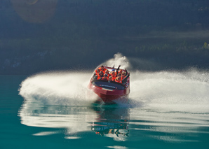 Jetboat Tours on Lake Brienz