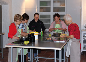 Team cooking in Freienbach