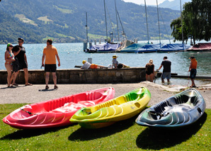 A cruise on the Thunersee – by kayak