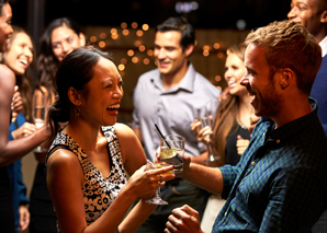 Laugh aperitif the icebreaker on your event