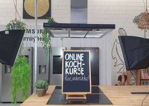 Online-Kochkurs - live and together