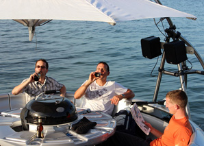 Barbecue on Lake Constance