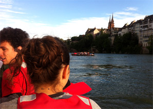 Riverrafting Basel