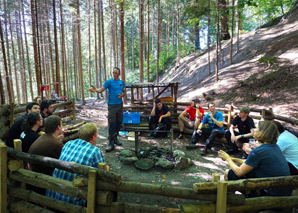Survivaltraining in der Natur