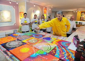 Action-Painting in Wetzikon