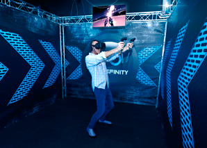Virtual Reality Games im Tessin