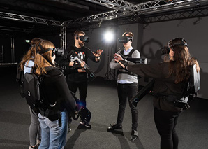 Virtual-Reality-Abenteuer in Bern