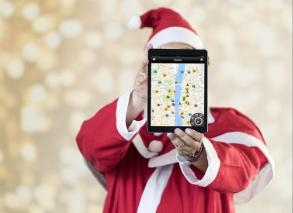 Christmas tour with tablets