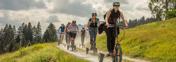 Bikeboarden in Chur