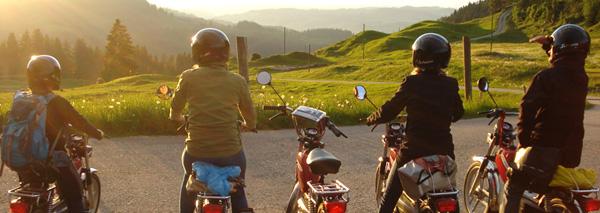 motorbike tour through the emmental