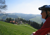 Through the Appenzell countryside by Flyer