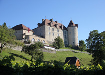 Travel back in time in the Greyerz Schloss