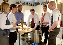 Beer brewing workshop