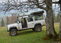 4 x 4 safari in the Jura with a grill