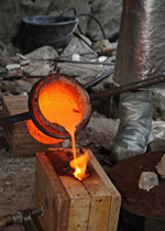 Bell casting workshop