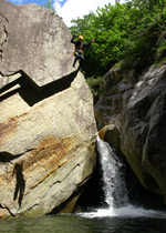 Canyoning in the Ticino
