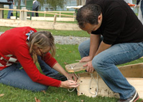 Dragon boat building