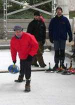 Ice stock sport (Bavarian curling)