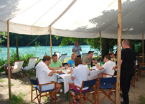 Summer party on the Aare