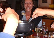 A romantic trip to fondue fun