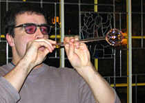 Glass blowing in the Emmental