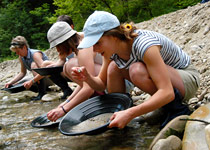 Panning for gold around the Napf