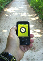 GPS treasure hunt