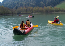 Canoeing in Gstaad