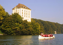Canoe trip on the Schiffenensee