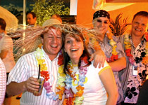 Lounge-Party am Thunersee