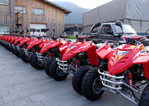 Quad bike touring in the Bernese Oberland