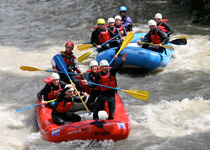 Rafting in Landquart