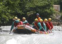 Riverrafting Simme