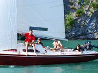 Sailing on the Walensee