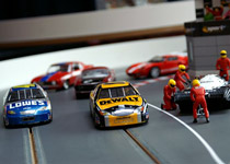 Circuit automobile de slotcar