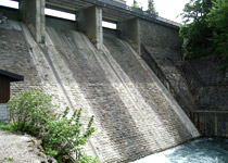 Visit the Sihlsee dams