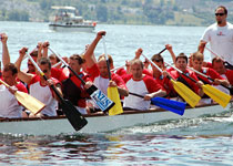 Team building in a dragon boat