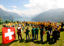 Alpine games in central Switzerland