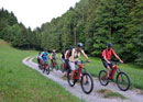 E-Mountainbiketour for beginners