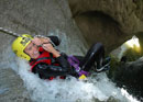 Canyoning in central Switerland's Chli Schliere