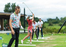 Golf taster event on the golf course