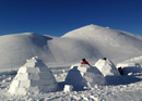 Build an igloo on the Engstligenalp