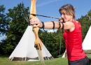 Tipi and archery romance